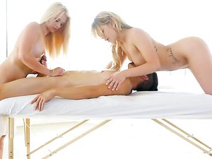 He Ordered A Double Massage And A Hot Happy Ending