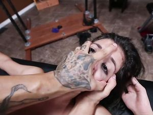Doggystyle Bondage Sex With The Submissive Teenager