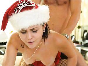 Erotic Lingerie Seduction Gets Her A Big Facial