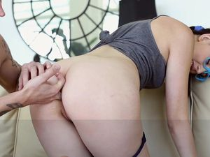 Young Anal Babe Wants To Taste His Hot Cumshot