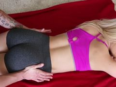 Yoga Babe With A Bubble Butt Gets A Good Pounding