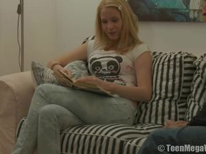 Pull Down Her Jeans And Fuck Her Teen Pussy
