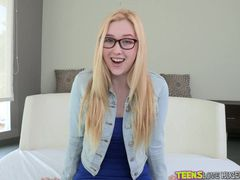 Spreading Samantha Rone Wide To Fuck Her Cunt