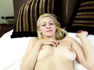 Blonde Teen Sucking And Fucking In A Hotel Room
