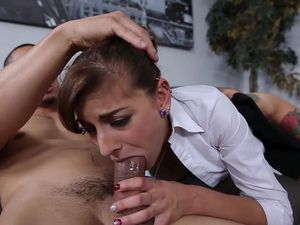 Boss Enjoys Pounding His Amazing Secretary