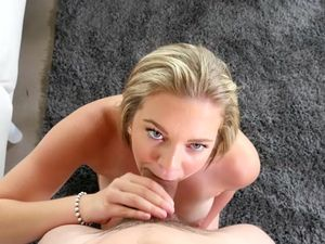 Lovely Busty Blonde Babe Gets Her Asshole Pounded