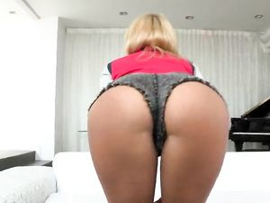 Blonde Angel Riding Cock And Getting A Cumshot
