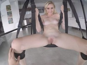 New Sex Swing Is Quite Good For Their Fuck Fun