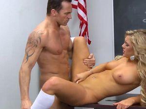 Irresistibly Slutty Student Fucks Her Horny Teacher