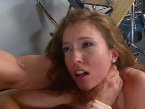 Schoolgirl Wants It Rough From Her Horny Teacher