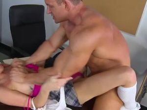 Schoolgirl Wants It Rough From Her Horny Teacher