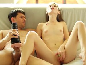 Sweet Alice March Arouses Him For Erotic Hardcore Sex