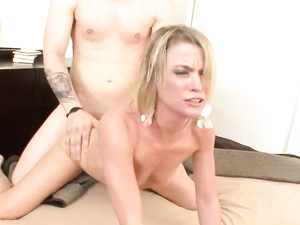 Party Girl Demands His Cock Deep In Her Wet Pussy